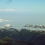 Mer de nuages sur les Alpes